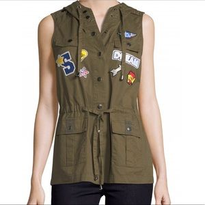 Jackets & Blazers - Romeo & Juliet Couture Patchwork Vest NWT